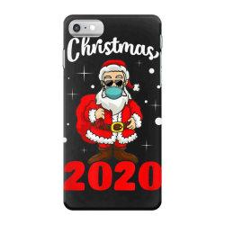 christmas 2020 santa quarantine mask iPhone 7 Case | Artistshot