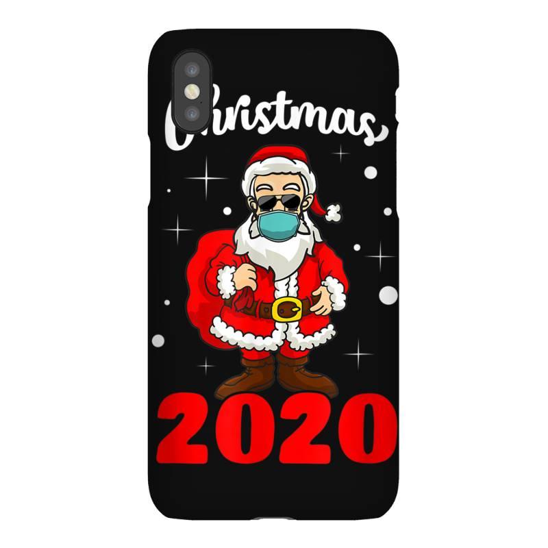 Christmas 2020 Santa Quarantine Mask Iphonex Case | Artistshot