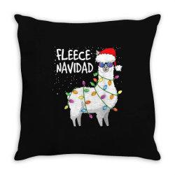 christmas navidad llama Throw Pillow | Artistshot