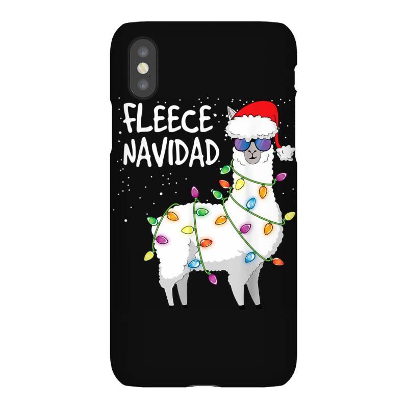 Christmas Navidad Llama Iphonex Case | Artistshot