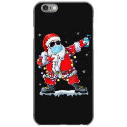 dabbing santa wearing mask toilet paper christmas iPhone 6/6s Case | Artistshot