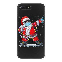 dabbing santa wearing mask toilet paper christmas iPhone 7 Plus Case | Artistshot