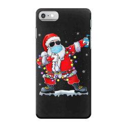 dabbing santa wearing mask toilet paper christmas iPhone 7 Case | Artistshot