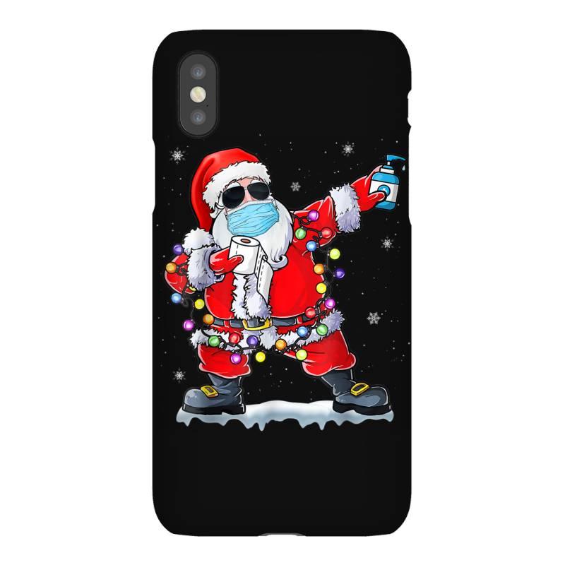 Dabbing Santa Wearing Mask Toilet Paper Christmas Iphonex Case | Artistshot
