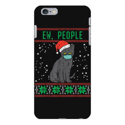 ew people black cat face mask iPhone 6 Plus/6s Plus Case | Artistshot