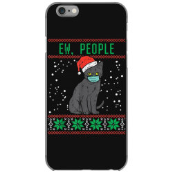 ew people black cat face mask iPhone 6/6s Case | Artistshot