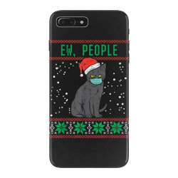 ew people black cat face mask iPhone 7 Plus Case | Artistshot