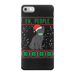 ew people black cat face mask iPhone 7 Case | Artistshot