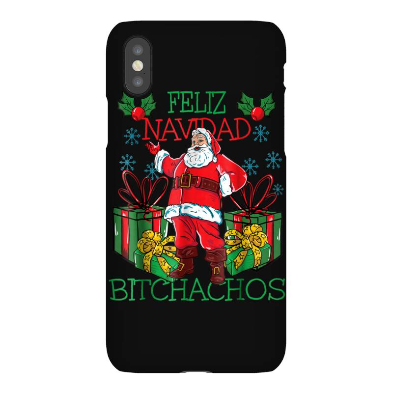 Feliz Navidad Bitchachos Iphonex Case   Artistshot