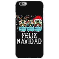 feliz navidad sugar skull in mask iPhone 6/6s Case | Artistshot