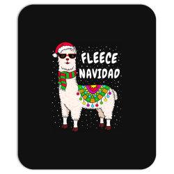 fleece feliz navidad llama christmas Mousepad   Artistshot