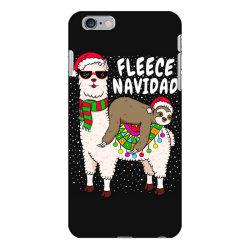 fleece feliz navidad sloth riding llama iPhone 6 Plus/6s Plus Case | Artistshot