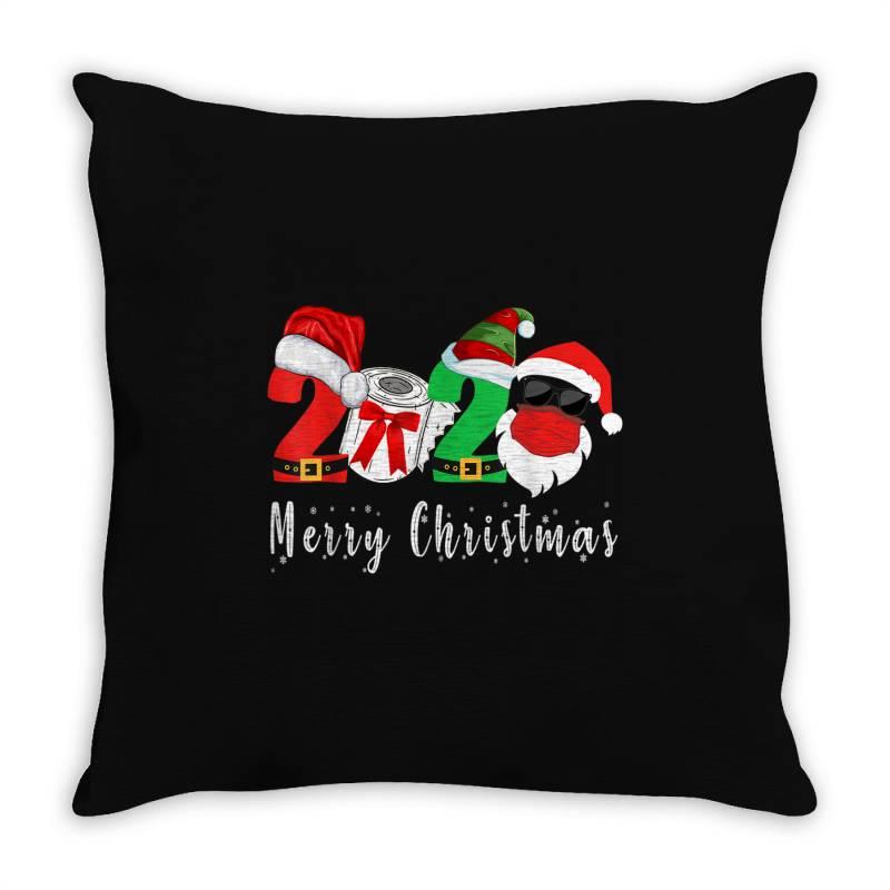 Merry Christmas 2020 Throw Pillow | Artistshot