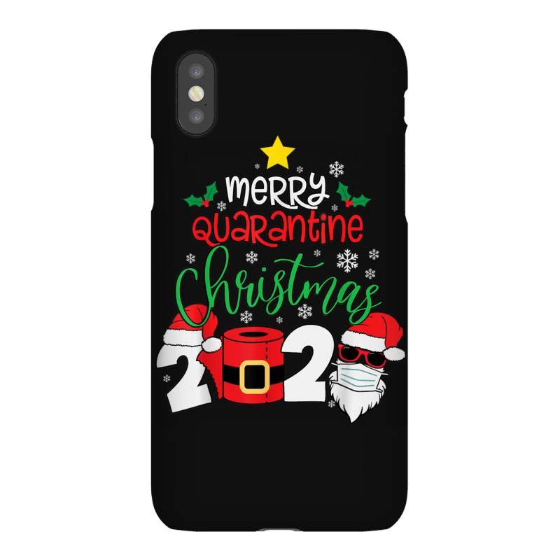 Merry Quarantine Christmas 2020 Iphonex Case | Artistshot