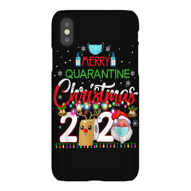 Merry Quarantine Christmas 2020 3 Iphonex Case   Artistshot