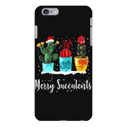 merry succulents christmas cactus succa iPhone 6 Plus/6s Plus Case | Artistshot