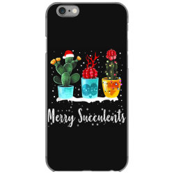 merry succulents christmas cactus succa iPhone 6/6s Case | Artistshot