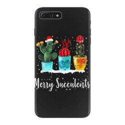 merry succulents christmas cactus succa iPhone 7 Plus Case | Artistshot