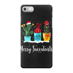 merry succulents christmas cactus succa iPhone 7 Case | Artistshot