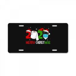 merry xmas 2020 quarantine License Plate | Artistshot