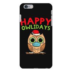 owl in mask cute christmas quarantine iPhone 6 Plus/6s Plus Case | Artistshot