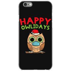 owl in mask cute christmas quarantine iPhone 6/6s Case | Artistshot