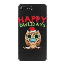 owl in mask cute christmas quarantine iPhone 7 Plus Case | Artistshot