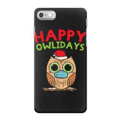owl in mask cute christmas quarantine iPhone 7 Case | Artistshot