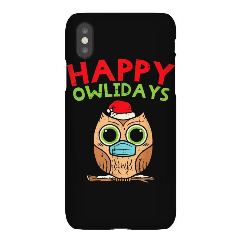 Owl In Mask Cute Christmas Quarantine Iphonex Case | Artistshot