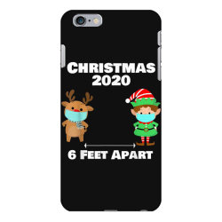quarantine christmas shirt 6 feet iPhone 6 Plus/6s Plus Case | Artistshot