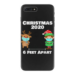 quarantine christmas shirt 6 feet iPhone 7 Plus Case | Artistshot