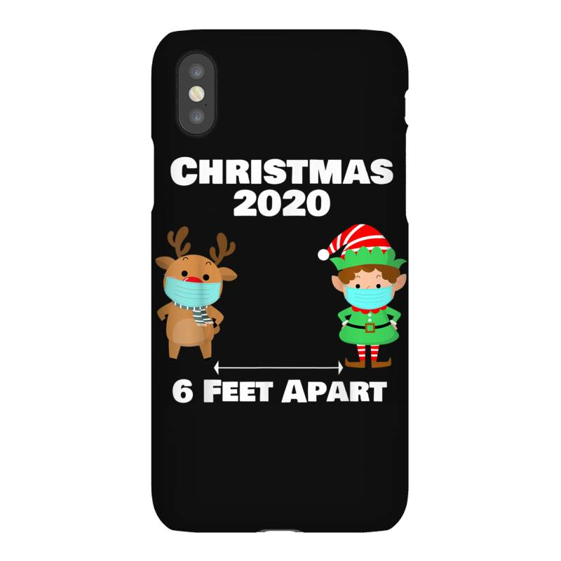 Quarantine Christmas Shirt 6 Feet Iphonex Case | Artistshot