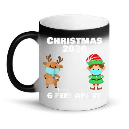 Quarantine Christmas Shirt 6 Feet Magic Mug Designed By Koopshawneen