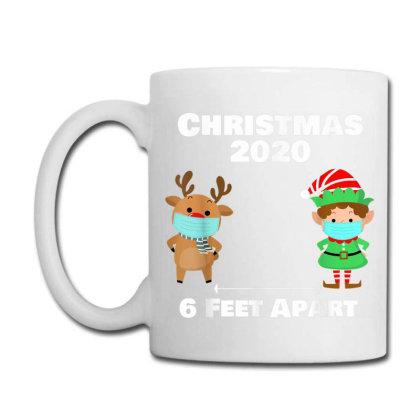 Quarantine Christmas Shirt 6 Feet Coffee Mug Designed By Koopshawneen