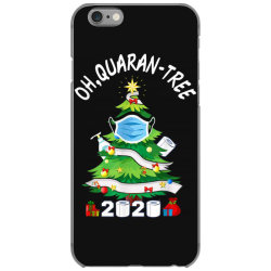 quarantine christmas tree ornament mask iPhone 6/6s Case | Artistshot
