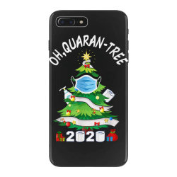 quarantine christmas tree ornament mask iPhone 7 Plus Case | Artistshot