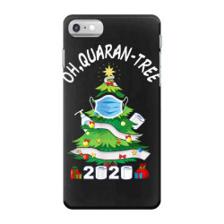 quarantine christmas tree ornament mask iPhone 7 Case | Artistshot