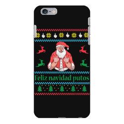 santa claus middle finger iPhone 6 Plus/6s Plus Case | Artistshot
