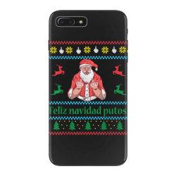 santa claus middle finger iPhone 7 Plus Case | Artistshot
