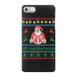 santa claus middle finger iPhone 7 Case | Artistshot
