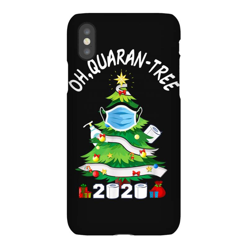 Quarantine Christmas Tree Ornament Mask Iphonex Case | Artistshot