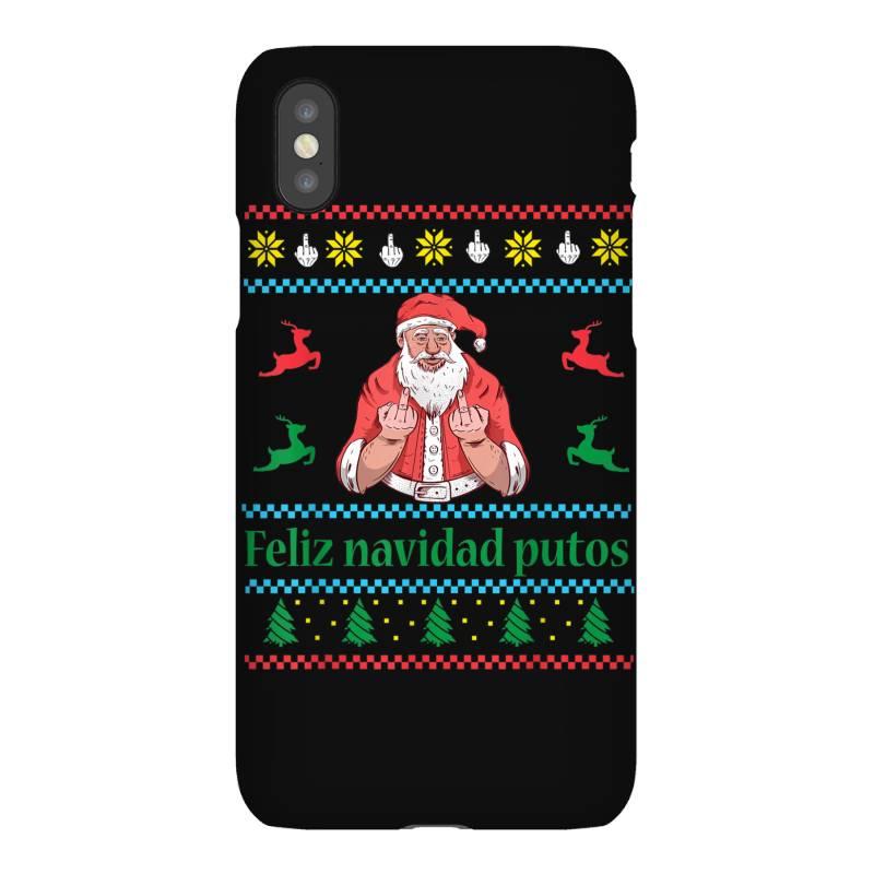 Santa Claus Middle Finger Iphonex Case | Artistshot