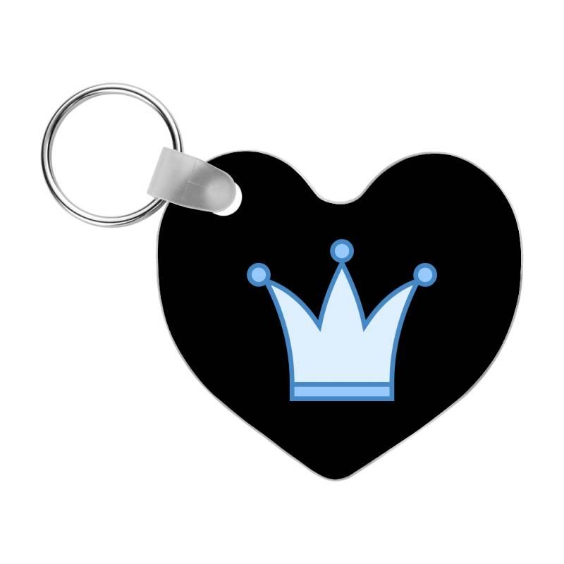 Baby King Frp Heart Keychain | Artistshot