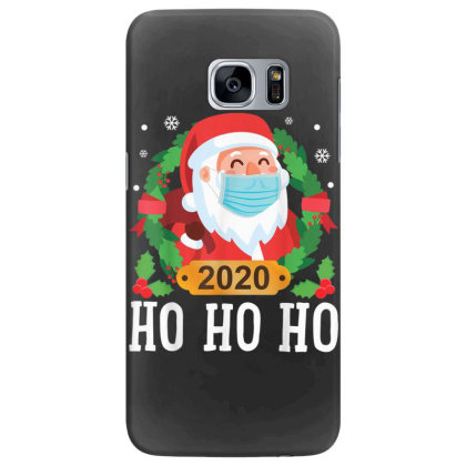 Santa Face Mask Funny Christmas Samsung Galaxy S7 Edge Case Designed By Koopshawneen