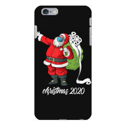 santa with face mask and toilet paper iPhone 6 Plus/6s Plus Case | Artistshot