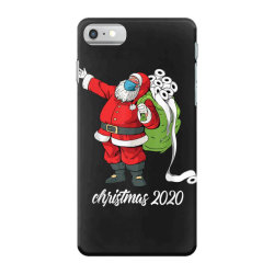 santa with face mask and toilet paper iPhone 7 Case | Artistshot
