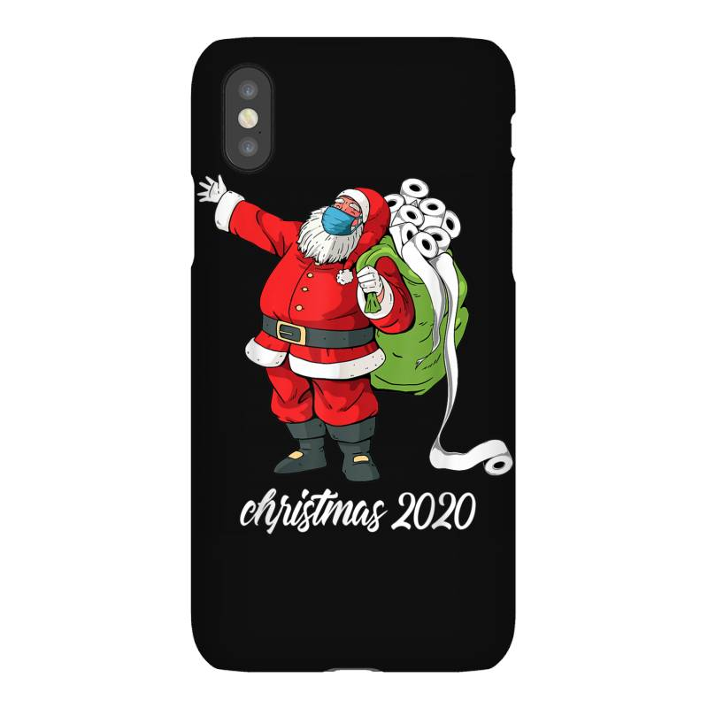 Santa With Face Mask And Toilet Paper Iphonex Case | Artistshot