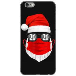 santa with face mask christmas 2020 iPhone 6/6s Case | Artistshot