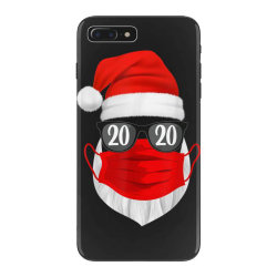 santa with face mask christmas 2020 iPhone 7 Plus Case | Artistshot