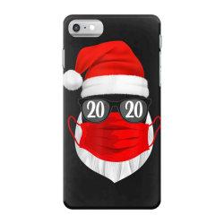 santa with face mask christmas 2020 iPhone 7 Case | Artistshot
